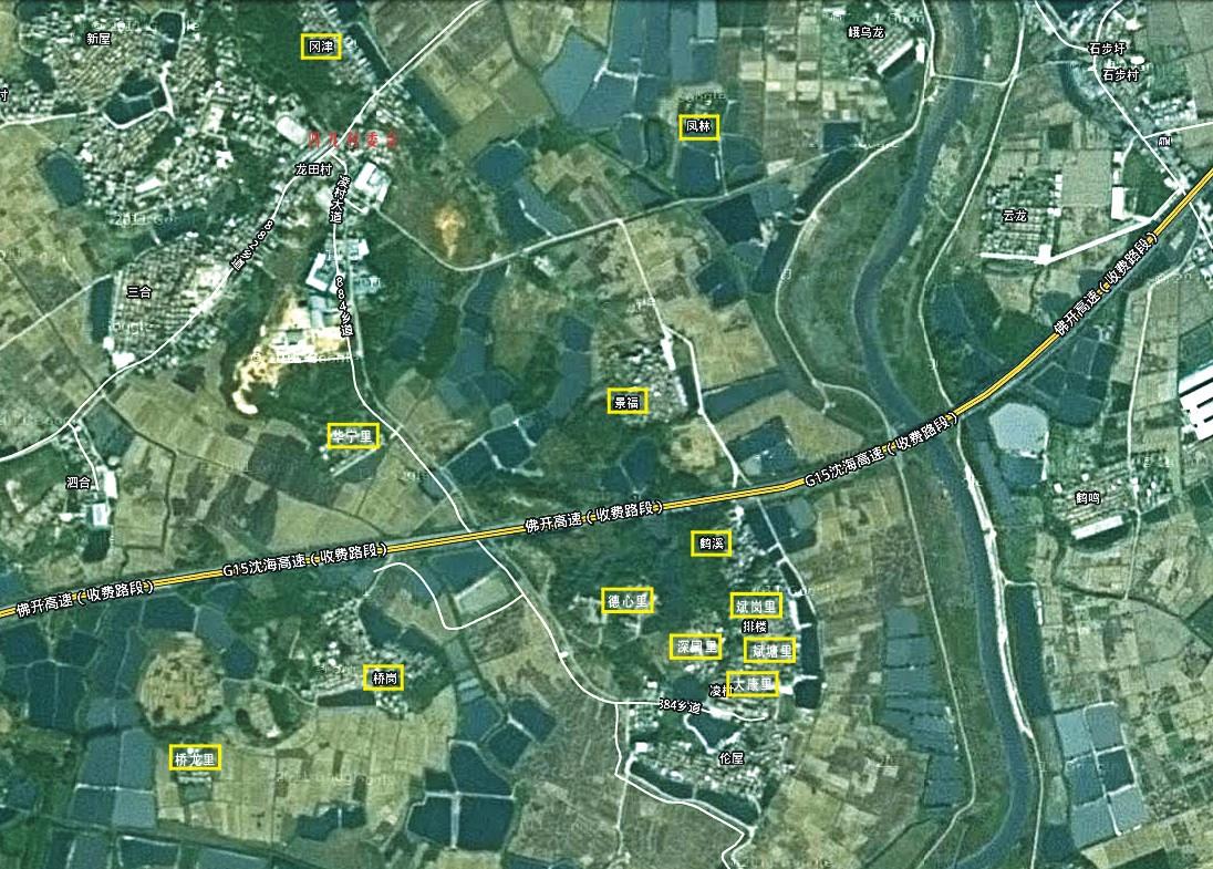 凌村卫星图